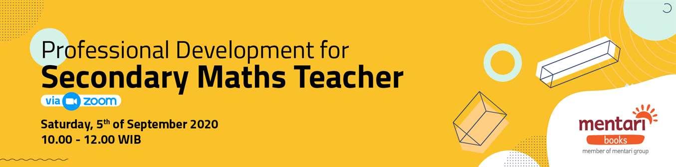 Professional Development for Secondary Maths Teacher
