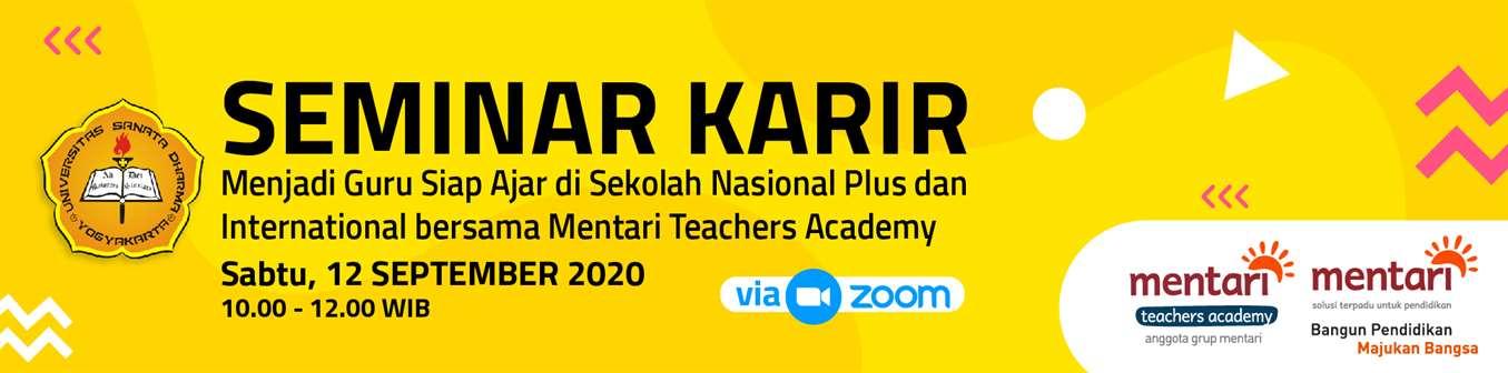 Seminar Karir - Mentari Teachers Academy